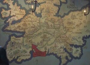 The 10th Kingdom map