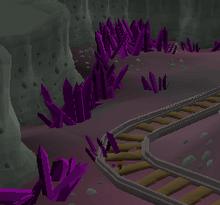 Haunted Mine crystal mine