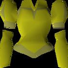 Gold elegant blouse detail