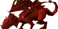 Brutal red dragon