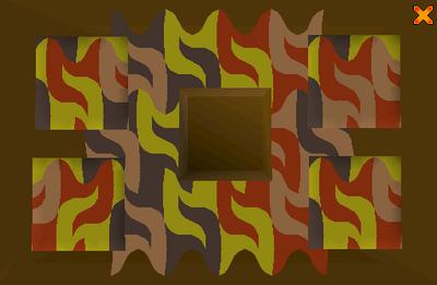Rogues' Den Mosaic Door