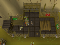 Cryptic clue - bentnoze goblin village