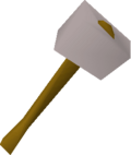 White warhammer detail