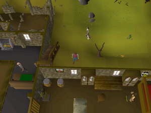 Hot cold clue - West Ardougne