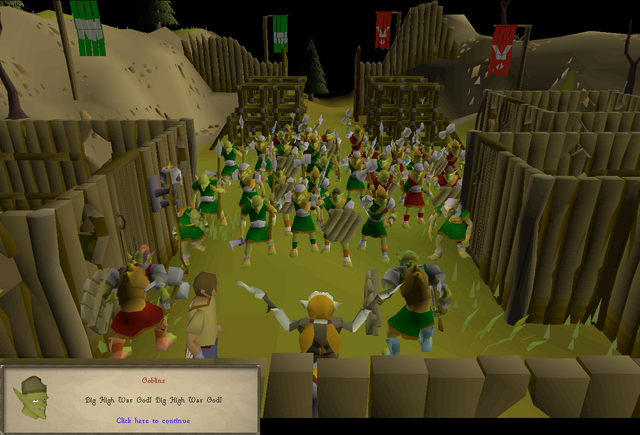 File:Another Slice Of H.A.M - Goblin Village gathering.png