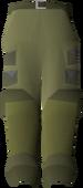 Angler waders detail