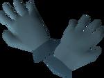 Rune gloves detail