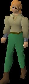 Fremennik beige shirt equipped