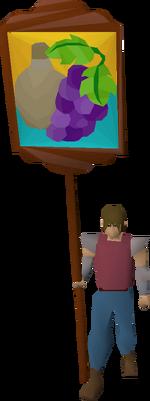 Hosidius banner equipped