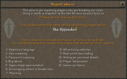 Report Abuse Interface