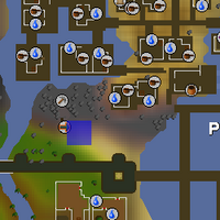 Hot cold clue - Piscarilius mine map