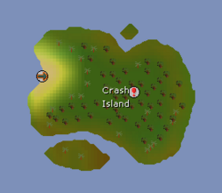 Crash Island map