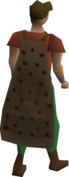 Spotted cape equipped