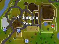Ardougne Zoo map