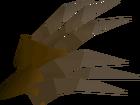 Bronze claws detail