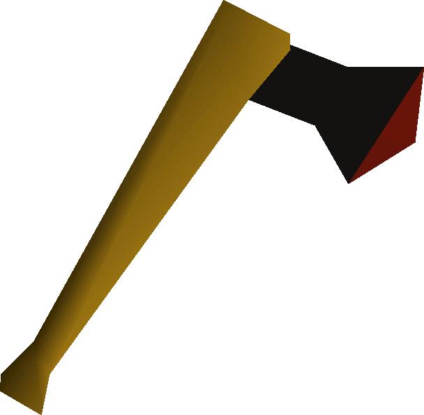 Black axe detail