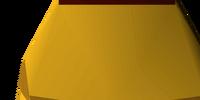 Gilded plateskirt