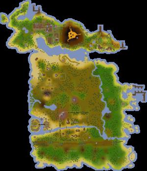 Karamja map