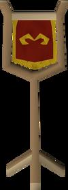 Zamorak symbol built