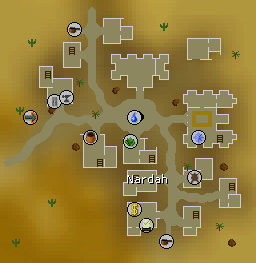 Nardah map