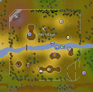 Shilo Village map