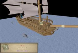 My Arm's Big Adventure boat journey