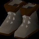 Lumberjack boots detail