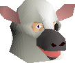 Cow mask chathead