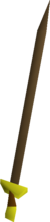 Bronze longsword detail