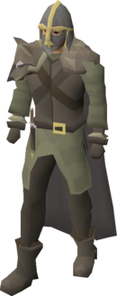 Clue hunter outfit equipped