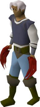 Dragon claws equipped