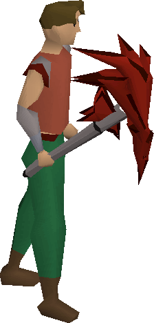 File:Dragon pickaxe (or) equipped.png