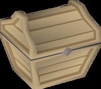 Oak prize chest built