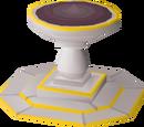 Ornate rejuvenation pool