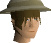 Pith helmet chathead