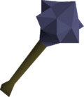 Mithril mace detail