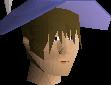 Decorative magic hat chathead