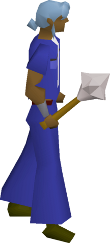 File:White mace equipped.png
