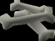 Wolf bones detail