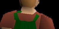 Fremennik green cloak
