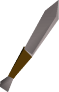 Knife detail