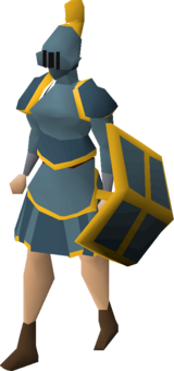 Rune gold-trimmed set (sk) equipped