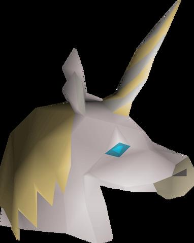 File:White unicorn mask detail.png
