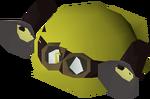 Prospector helmet detail