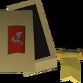 Dragon sq shield ornament kit detail