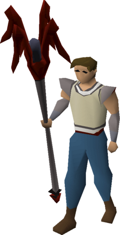 File:Dragon cane equipped.png