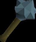 Rune mace detail