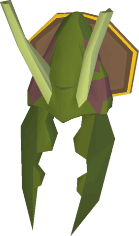 File:Kalphite Queen head (mounted) built.png
