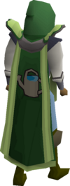 Farming cape(t) equipped