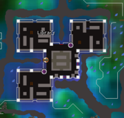 Arceuus House Library map